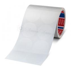 Кружочки из tesa 64044 односторонней ПП ленты