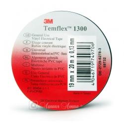 Изолента ПВХ 3M Temflex 1300 общего применения, 130мкр