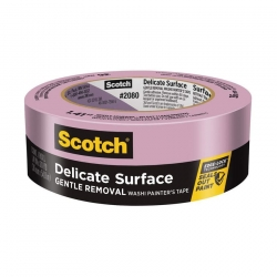 Малярная лента Scotch Blue 2080 для деликатных поверхностей