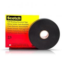 Изолента 3M Scotch 23 самовулканизирующаяся до 69кВ