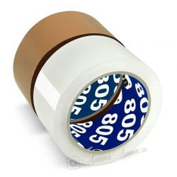 Упаковочная лента UNIBOB805 на основе полипропилена, 50мкр