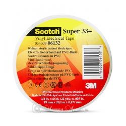 Изолента ПВХ 3M Scotch Super 33+ морозостойкая, 178мкр