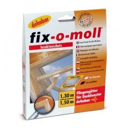 Москитная сетка для мансардных окон fix-o-moll, 1.3x1.5м