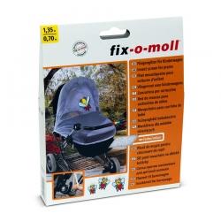 Москитная сетка для детской коляски fix-o-moll, 0.7x1.35м