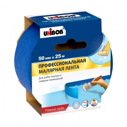 Малярная лента UNIBOB для наружных работ