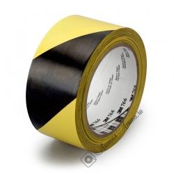 Сигнальная лента 3M 766i для разметки и маркировки, 125мкр