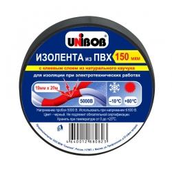 Изолента ПВХ UNIBOB общего применения, 130/150мкр