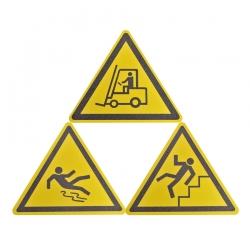 Противоскользящий знак треугольный
