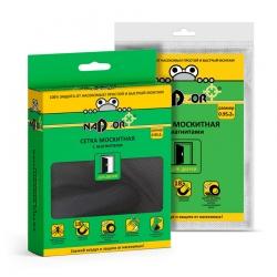 Москитная сетка NADZOR на магнитах для дверей, 0,9x2м