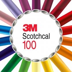 Графическая пленка 3М Scotchcal 100 для 3D пов., Долгосрочная